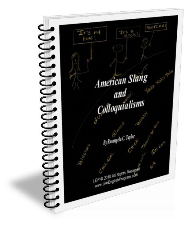 Image: Book ESL - American Slang and Colloquialisms, by R.C. Taylor
