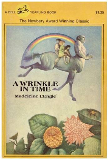 A Wrinkle in Time - book by Madeleine E'Engle